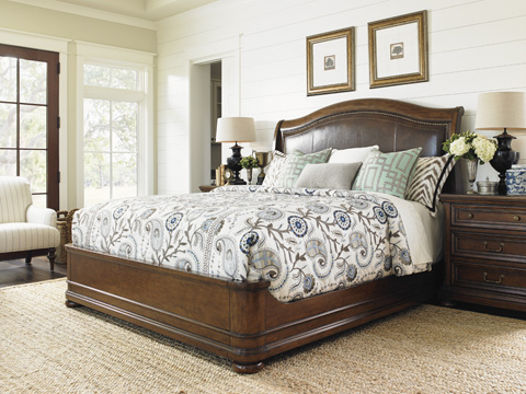 Lexington Home Brands - Chandler Mills King Sleigh Bed - 945-190C