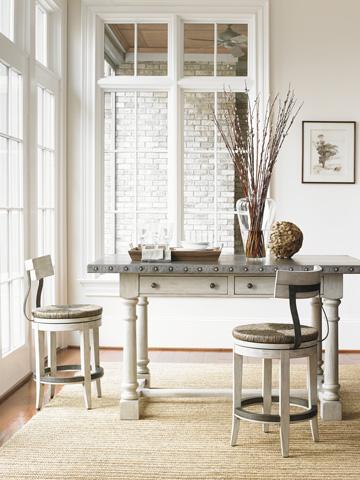 Lexington Home Brands - Merrick Swivel Counter Stool - 714-815-01