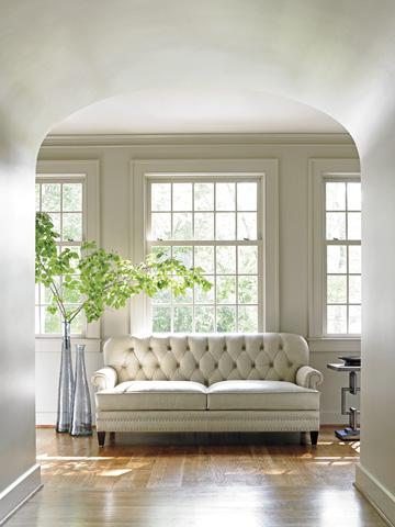 Lexington Home Brands - Hillstead Leather Settee - LL7924-23
