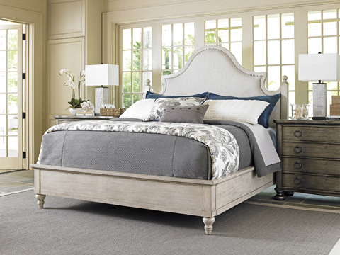 Lexington Home Brands - Arbor Hills King Upholstered Bed - 714-144C
