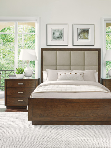 Lexington Home Brands - Casa Del Mar Queen Upholstered Bed - 721-133C