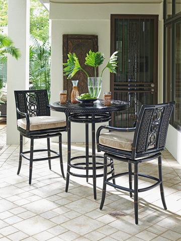 Lexington Home Brands - Outdoor Swivel Barstool - 3237-16SW