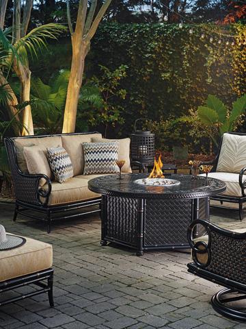 Lexington Home Brands - Outdoor Gas Fire Pit - 3237-920FG