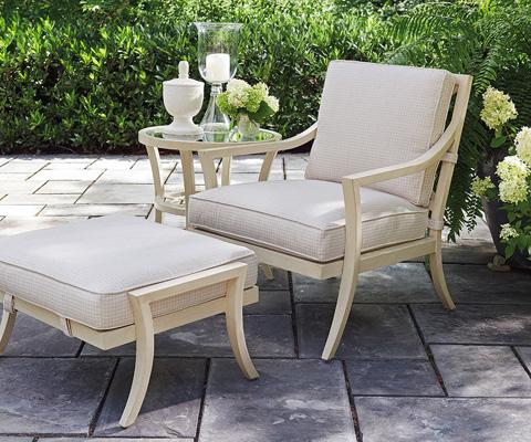 Lexington Home Brands - Outdoor Ottoman - 3239-44