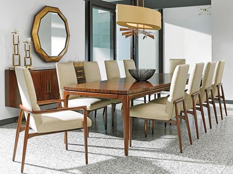 Lexington Home Brands - Viceroy Rectangular Dining Table - 723-877