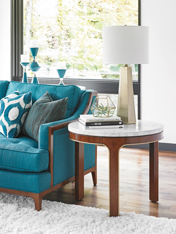 Lexington Home Brands - Interlude Round End Table - 723-953