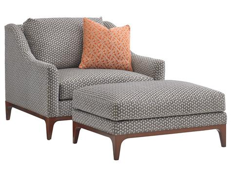 Lexington Home Brands - Greenstone Ottoman - 7241-44