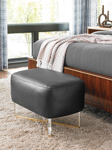 Lexington Home Brands - Bleeker Leather Bed Bench - LL1819-44