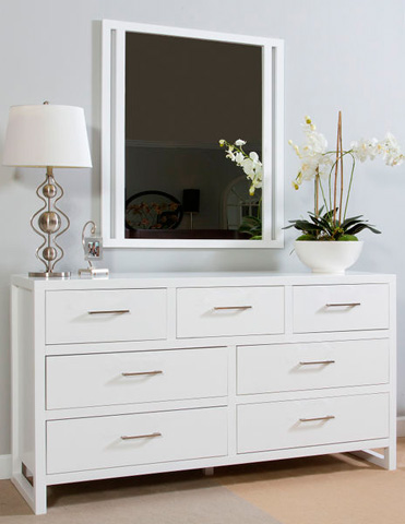 Ligna Furniture - Seven Drawer Dresser - 9326