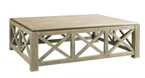 Lillian August Fine Furniture - Burleigh Cocktail Table - LA96315-01