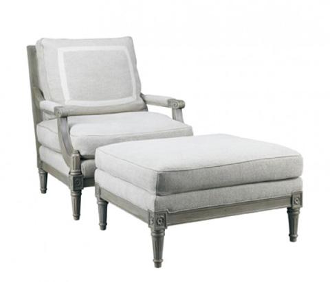 Lillian August Fine Furniture - Portia Ottoman - LA1124OT