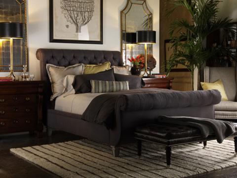Lillian August Fine Furniture - Cavendish Ottoman - LA8006OT