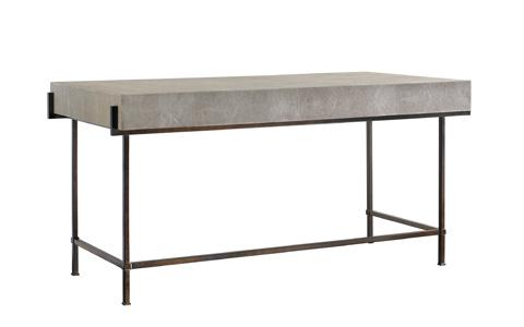 Lillian August Fine Furniture - Simone Shagreen Metal Desk - LA96339-01