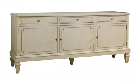 Lillian August Fine Furniture - Foster 3 Door Server - LA97053-01