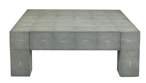 Lillian August Fine Furniture - Charcoal Shagreen Gavin Cocktail Table - LA99315-01