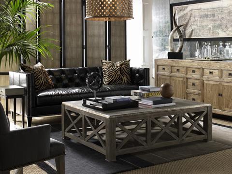 Lillian August Fine Furniture - Wright Mid-Sofa - LL7154M