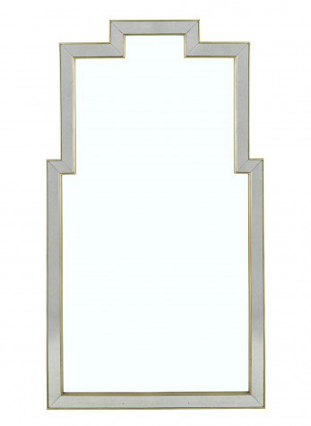 Lillian August Fine Furniture - Athena Mirror in Silver - LA13341-01