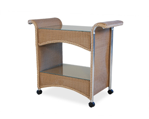 Lloyd Flanders - Castered Tea Cart - 1045