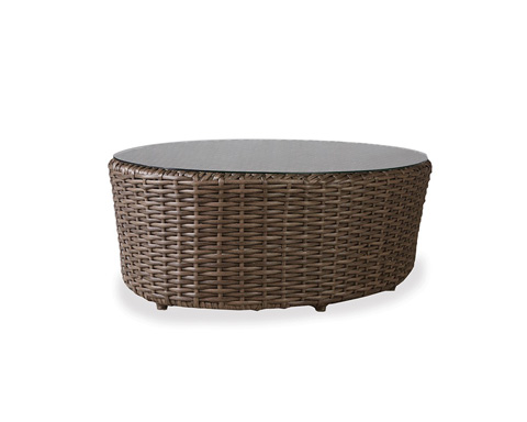 Lloyd Flanders - Oval Cocktail Table - 241044