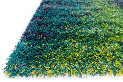 Loloi Rugs - Peacock and Lime Rug - BS-03 PEACOCK / LIME
