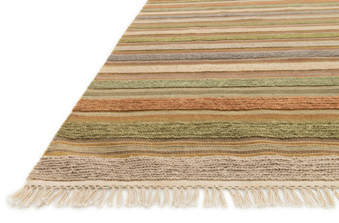 Loloi Rugs - Light Green and Multi Rug - CM-03 LT. GREEN / MULTI