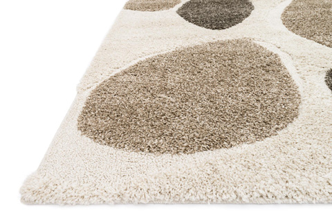 Loloi Rugs - Ivory and Multi Rug - EN-04 IVORY / MULTI