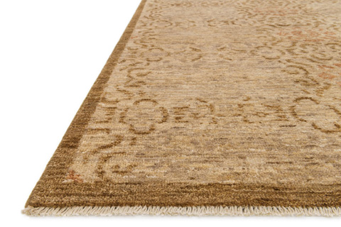 Loloi Rugs - Antique Beige and Brown Rug - EQ-02 ANTIQUE BEIGE / BROWN