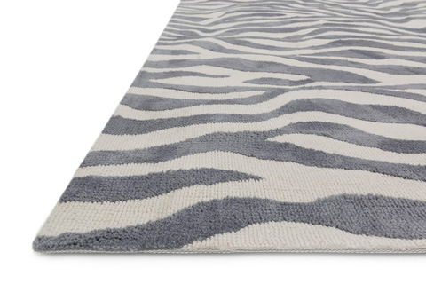 Loloi Rugs - Ivory and Grey Rug - HCD03 IVORY / GREY