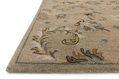 Loloi Rugs - Camel and Moss Rug - HFF21 CAMEL / MOSS