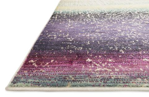 Loloi Rugs - Purple and Multi Rug - HLZ16 PURPLE / MULTI