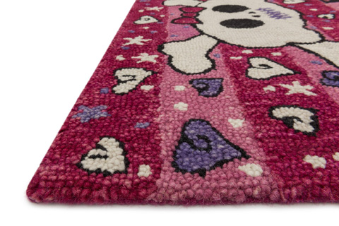 Loloi Rugs - Pink Rug - HSK06 PINK
