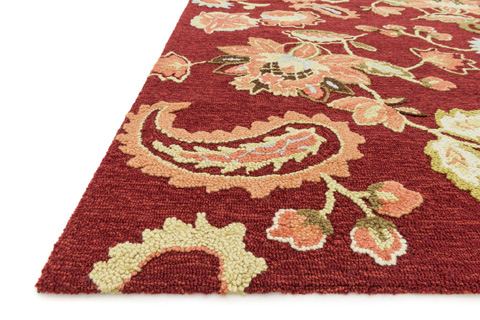Loloi Rugs - Red Rug - JL-03 RED
