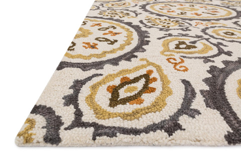 Loloi Rugs - Grey and Gold Rug - MF-17 GREY / GOLD
