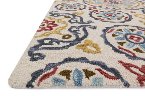 Loloi Rugs - Ink and Blue Rug - MF-19 INK / BLUE