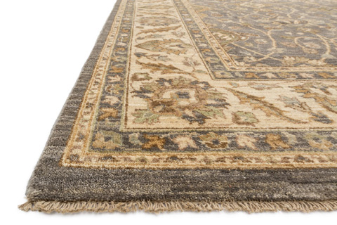 Loloi Rugs - Grey and Ivory Rug - MM-12 GREY / IVORY