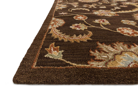 Loloi Rugs - Brown Rug - MX-01 BROWN