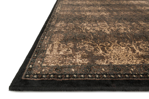 Loloi Rugs - Expresso and Black Rug - MY-07 EXPRESSO / BLACK