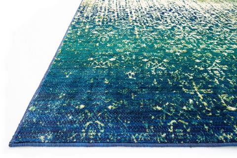 Loloi Rugs - Blue Cascade Rug - MZ-07 BLUE CASCADE