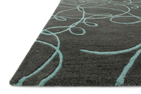 Loloi Rugs - Grey and Mist Rug - NV-03 GREY / MIST