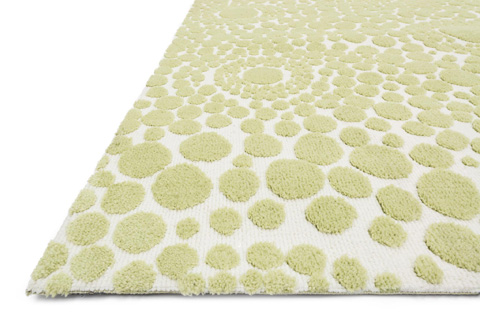 Loloi Rugs - Bubble Green Rug - PI-04 BUBBLE GREEN
