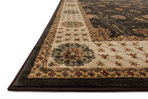 Loloi Rugs - Expresso and Beige Rug - ST-09 EXPRESSO / BEIGE
