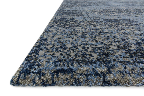Loloi Rugs - Light Blue and Grey Rug - VR-06 LT. BLUE / GREY