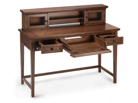 Magnussen Home - Harbor Bay Sofa Table Desk in Toffee Finish - T1392-90