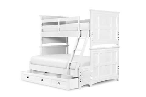Magnussen Home - Kenley White Bunk Bed - Y1875 BUNK