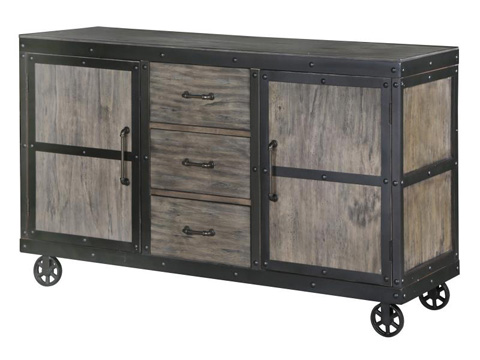 Magnussen Home - Server with Casters - D2469-15