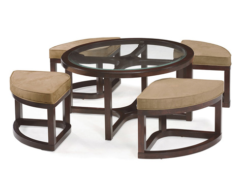 Magnussen Home - Round Cocktail Table - T1020-45