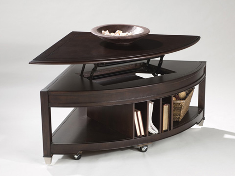 Magnussen Home - Pie Shaped Cocktail Table - T1124-65