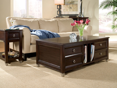 Magnussen Home - Rectangular Sofa Table - T1124-73