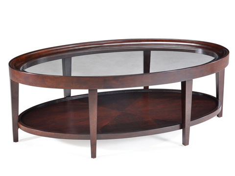 Image of Oval Cocktail Table