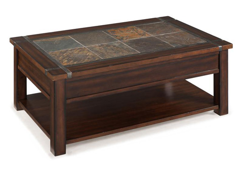 Magnussen Home - Rectangular Chairside End Table - T2615-10